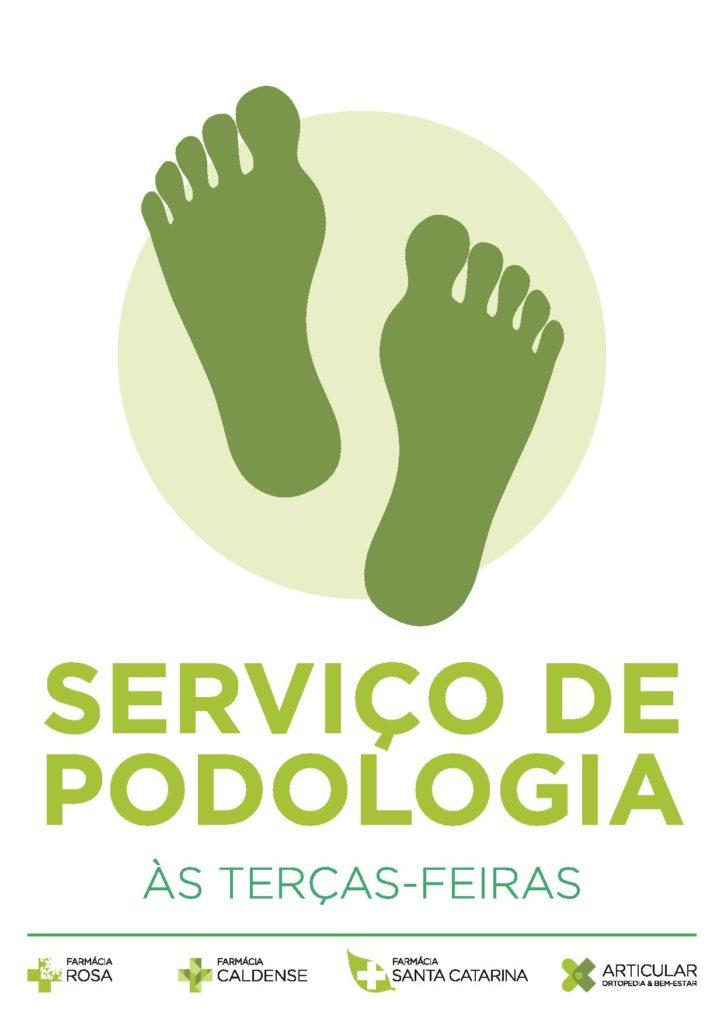 Serviço de Podologia nas Farmácias Rosa, Caldense e Santa Catarina e Articular-Ortopedia e bem estar