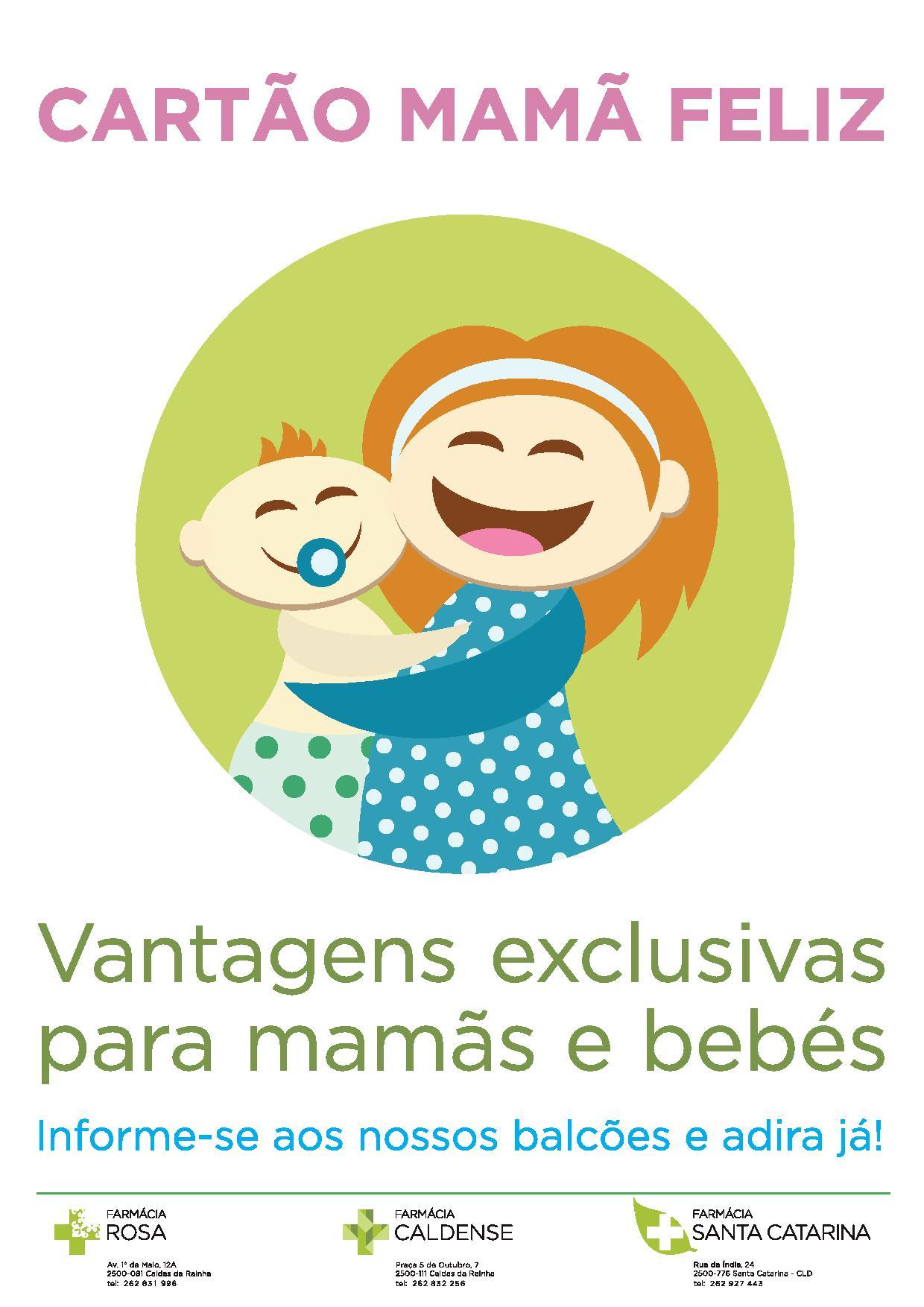Cartão Mamã Feliz