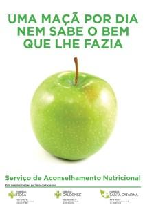 Apresentação do serviço de nutrição às quintas na Farmácia Rosa
