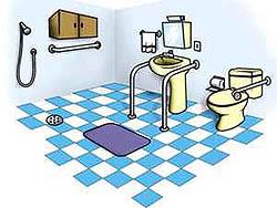 Ter a casa de banho adaptada para os idosos é fundamental para prevenir quedas e futros problemas de saúde graves