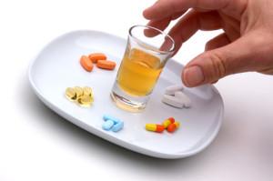 Interação entre álcool e medicamentos