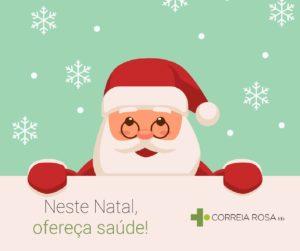 Este Natal ofereça saúde